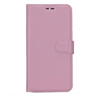 Tasche Wallet Premium Rosa für ZTE Blade A610 Plus Hülle Case Cover Etui Schutz - Vorschau 2