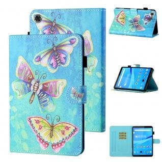 Für Lenovo Tab M10 Plus 10.3 Zoll X606F Motiv 80 Tablet Tasche Kunst Leder Etuis