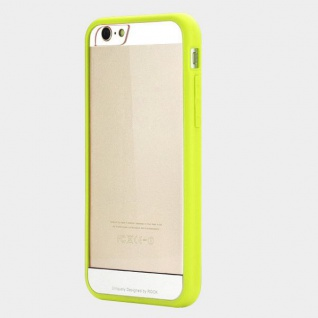 Original Rock Hybrid Bumper Faceplate Grün für Apple iPhone 6 Plus 5.5 Case Neu