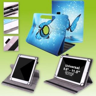 Für Huawei MediaPad M5 Lite 10.1 360 Grad Motiv 8 Tablet Tasche Kunst Leder Etui