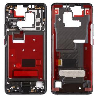 Mittelrahmen für Huawei Mate 20 Pro Schwarz Front Housing LCD Gehäuse Ersatzteil