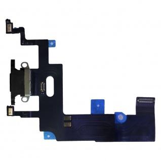 Für Apple iPhone XR Flex Kabel Charging Port Flex Ladebuchse Schwarz Ersatzteil