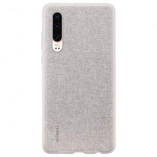 PU Case Grau für Huawei P30 51992981 Original Tasche Schutz Schale Abdeckung