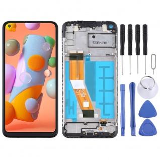 Für Samsung Galaxy A11 A115F Display Full LCD + Rahmen Touch Ersatzteil Schwarz - Vorschau 5