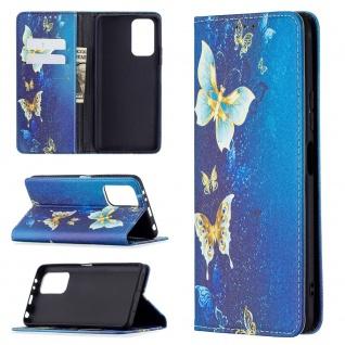 Für Xiaomi Redmi Note 10 Pro Kunst-Leder Handy Tasche Motiv 7 Hülle Case Etuis