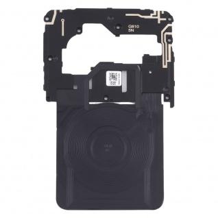 Motherboard Rahmen + NFC für LG G8s ThinQ Schwarz Bezel Frame Ersatzteil Zubehör