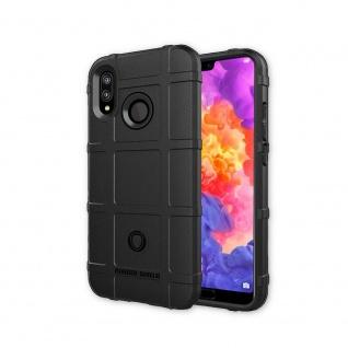 Für Apple iPhone XR 6.1 Zoll Shield Series Outdoor Schwarz Tasche Hülle Cover