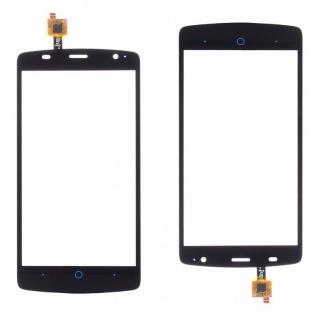 Reparatur Displayglas Touch Screen für ZTE Blade L5 Plus Glas Reparatur Schwarz