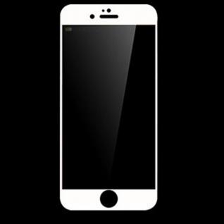 Premium 0, 3 mm gebogenes H9 Hartglas Weiß Folie für Apple iPhone 7 Plus Schutz - Vorschau 1