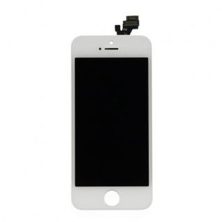 Display LCD Komplett Einheit Touch Panel für Apple iPhone 5 Weiss Ersatz Glas - Vorschau 2