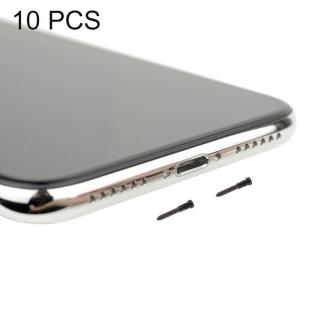 Ersatzschrauben Schrauben Set für Apple iPhone X / 10 Ersatz Spare Parts Schwarz