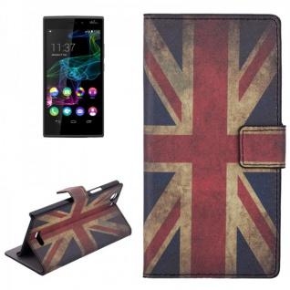 Schutzhülle Muster 9 für Wiko Ridge 4G Bookcover Tasche Hülle Wallet Case Flip