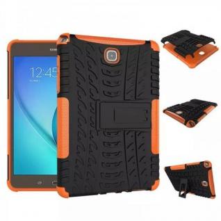 Hybrid Outdoor Schutzhülle Case Orange für Samsung Galaxy Tab A 9.7 T550 Tasche