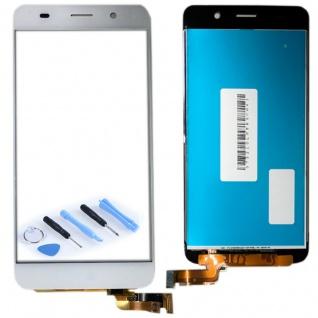 Ersatz Display LCD Komplett Einheit für Huawei Y6 Reparatur Weiß Ersatzteil