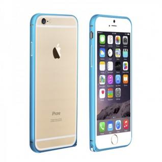 Original LOVE MEI Metall Bumper Blau für Apple iPhone 6 4.7 Hülle Schutz Zubehör
