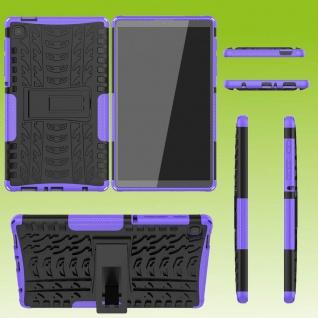 Für Samsung Galaxy Tab A7 Lite 2021 8.7 Hybrid Lila Tablet Tasche Etuis Hülle