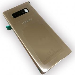 Samsung GH82-14979D Akkudeckel Deckel für Galaxy Note 8 N950F + Klebepad Gold