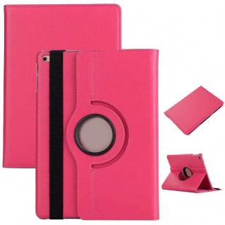 Schutzhülle 360 Grad Pink Case Cover Etui Tasche für NEW Apple iPad 9.7 2017 Neu