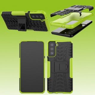Für Samsung Galaxy S21 Plus G996B Outdoor Grün Handy Tasche Etuis Hülle Cover