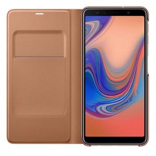 Samsung Wallet Cover Hülle EF-WA750PFEGWW Galaxy A7 2018 A750F Schutzhülle Gold - Vorschau 2
