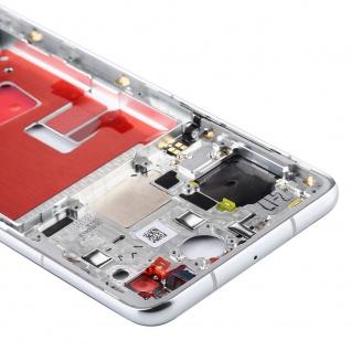 Mittelrahmen für Huawei P40 Silber Middle Frame Rahmen Zubehör Ersatzteil Neu - Vorschau 2