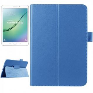 Schutzhülle Hell Blau Tasche für Samsung Galaxy Tab S2 8.0 SM T710 T715N Hülle