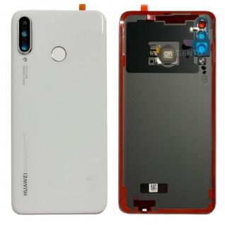 Huawei Akkudeckel Akku Deckel Batterie Cover Weiß für P30 Lite 02352RQB Ersatz