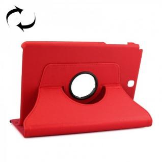 Schutzhülle 360 Grad Rot Tasche für Samsung Tab A 9.7 T555 T555N T550 Hülle Case