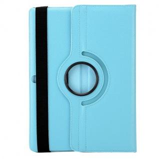 Schutzhülle 360 Grad Hell Blau Tasche für Samsung Galaxy Tab S 10.5 T800 Zubehör