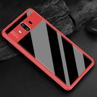 Original ROCK Bumper Case für Huawei Mate 10 Pro Tasche Hülle Etui Schutz Rot