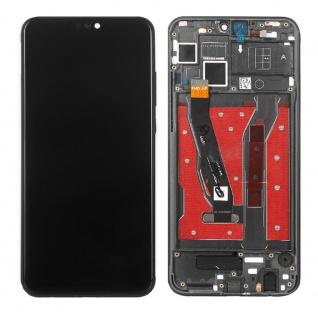 Für Huawei Honor 8X Display Full LCD Touch mit Rahmen Ersatz Reparatur Schwarz
