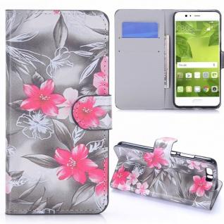Schutzhülle Muster 25 für Huawei P10 Plus Bookcover Tasche Case Hülle Wallet Neu