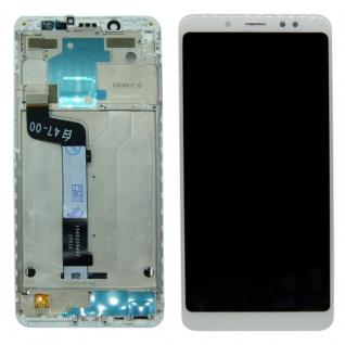 Für Xiaomi Redmi Note 5 Reparatur Display LCD Komplett mit Rahmen Touch Weiß Neu