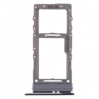 Sim / Micro SD Karten Halter für Samsung Galaxy S20 Schwarz Card Tray Ersatzteil
