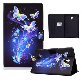 Für Samsung Galaxy Tab A 10.5 T590 2018 Motiv 86 Tablet Tasche Kunst Leder Etuis