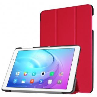 Smartcover Rot für Huawei MediaPad T2 10.0 Pro Hülle Case Tasche Schutz Zubehör