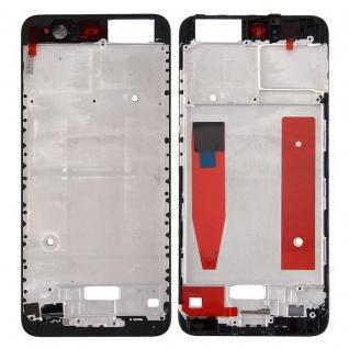 Gehäuse Rahmen Mittelrahmen Deckel kompatibel für Huawei P10 Schwarz Reparatur
