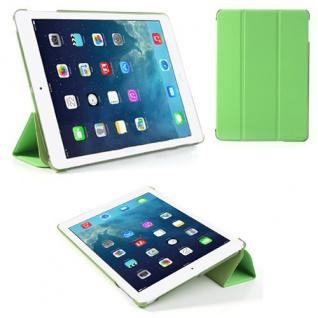 Deluxe Smartcover Schutz Case Etui Zubehör für Apple iPad Air Case Hülle grün