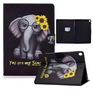 Für Apple iPad 10.2 2019 / 2020 7. / 8. Gen Motiv 84 Tablet Tasche Kunst Leder