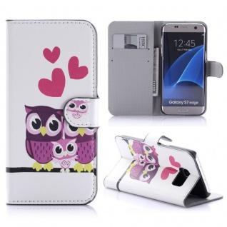 Schutzhülle Muster 87 für Samsung Galaxy S7 Edge G935F Tasche Cover Case Hülle