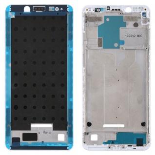 Gehäuse Rahmen Mittelrahmen Deckel für Xiaomi Redmi Note 5 Weiß Ersatzteil Neu