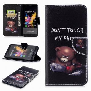 Schutzhülle Motiv 21 für Huawei Honor 7X Tasche Hülle Case Zubehör Cover Etui