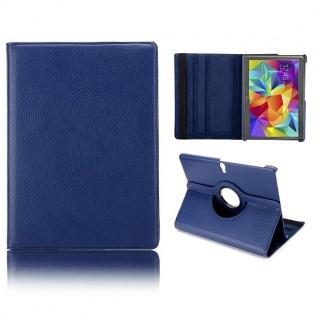 Schutzhülle 360 Grad Blau Tasche für Samsung Galaxy Tab S 10.5 T800 Zubehör Neu