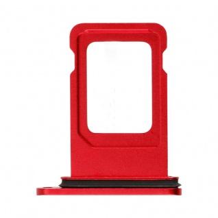 Für Apple iPhone 11 Simkarten Halter Card Tray Rot Red SD Card Ersatzteil Ersatz