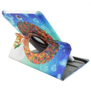 Schutzhülle 360 Grad Muster 34 Tasche für Samsung Galaxy Tab A 9.7 T550 T555 Neu