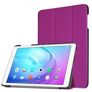 Smartcover Lila für Huawei MediaPad M3 8.4 Zoll Hülle Case Tasche Schutz Zubehör