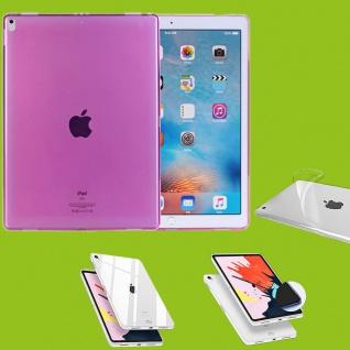 Für Apple iPad Pro 12.9 Zoll 2018 Pink Tasche Hülle Case Cover TPU Silikon dünn