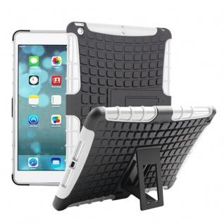 Für Apple iPad 9.7 2018 Hybrid Outdoor Schutzhülle Case Weiß Tasche Cover Etui