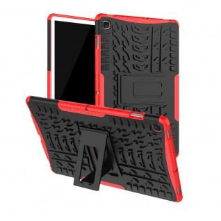 Für Samsung Galaxy Tab S5e 10.5 T720F Outdoor Hybrid Rot Tasche Etuis Hülle Case