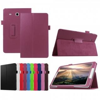 Schutzhülle Lila Tasche für Samsung Galaxy Tab E 9.6 SM T560 T561 Hülle Case Neu